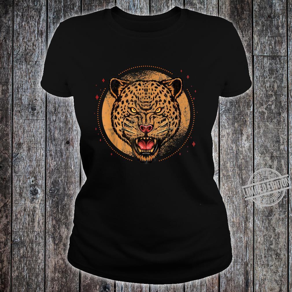 Jaguar Großkatze Shirt ladies tee