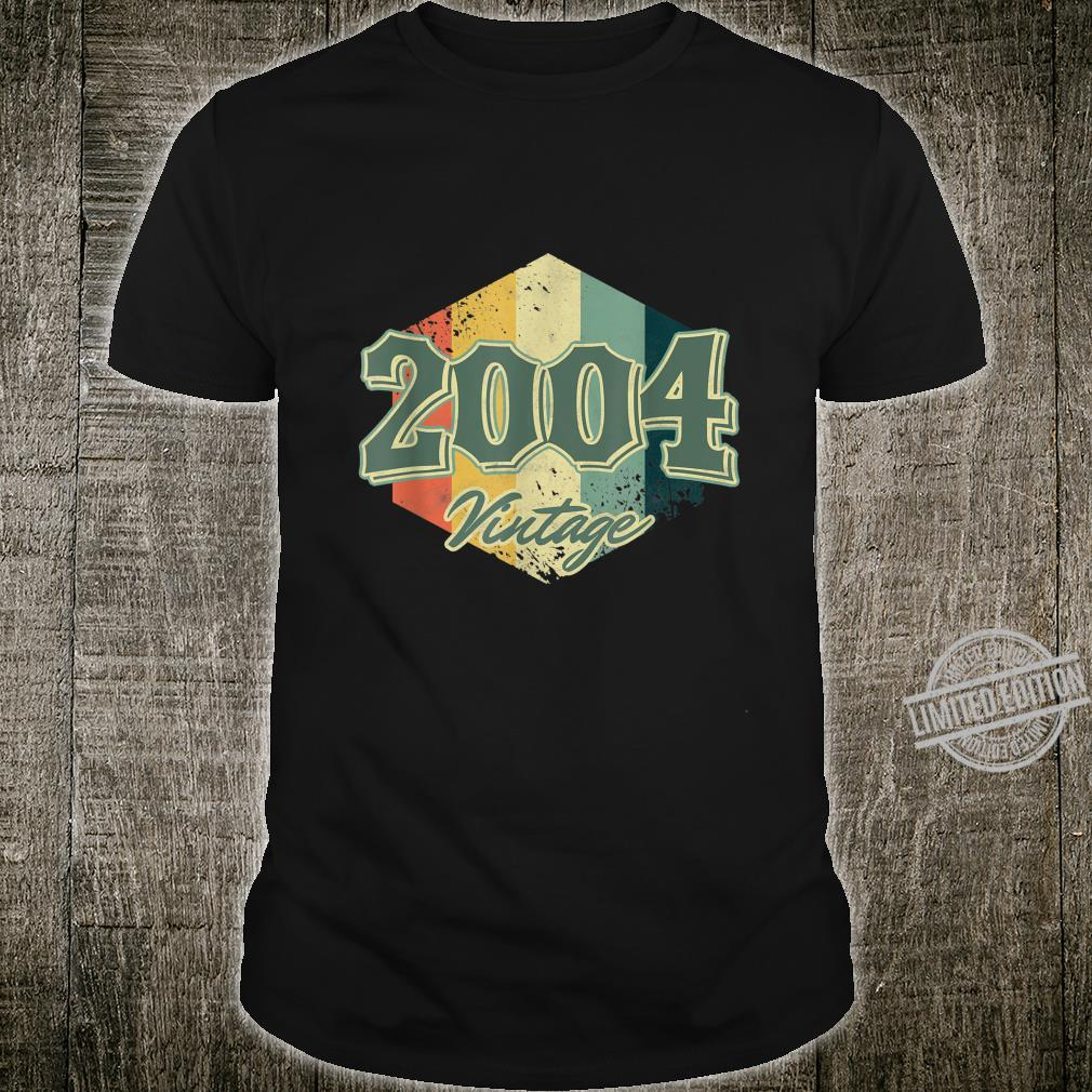 Jahrgang 2004 16. Geburtstag Zelebrant Gen Z 16 Jahre alt Shirt