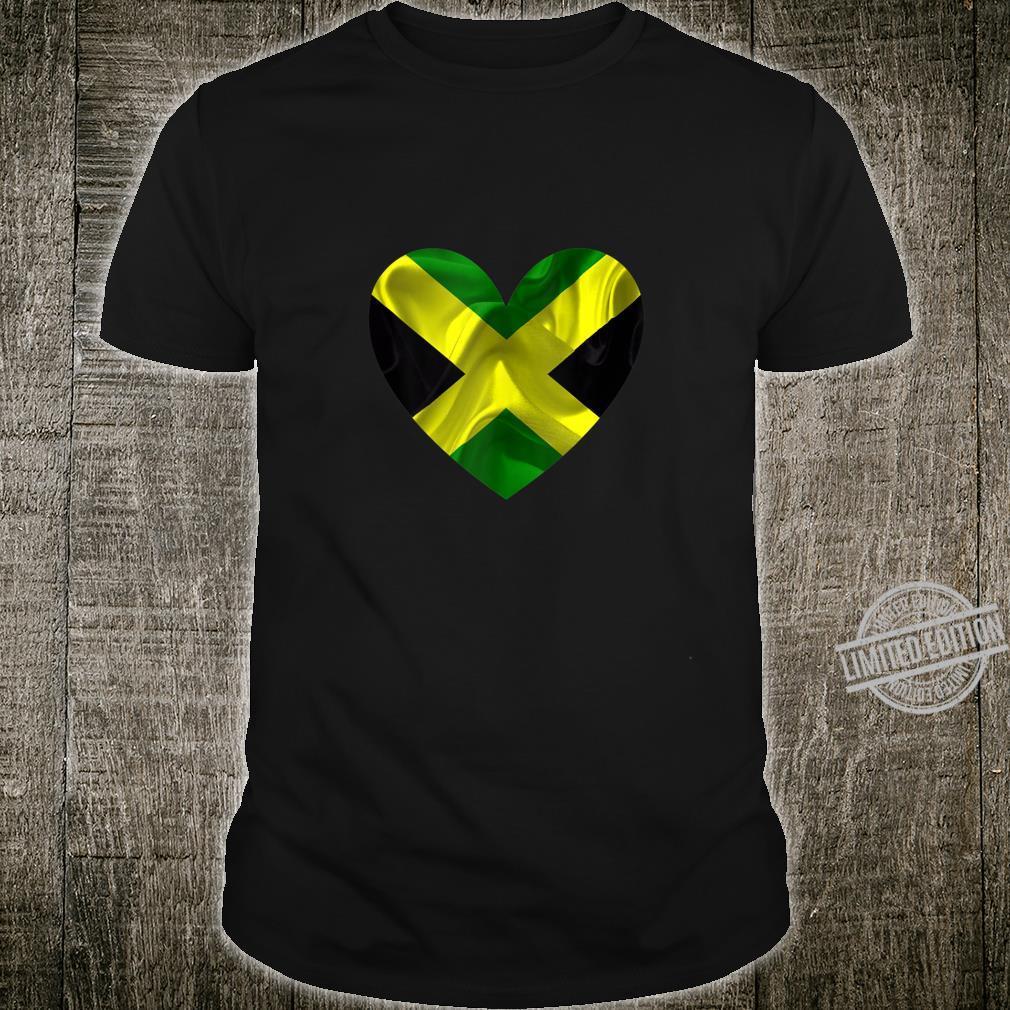 Jamaica Valentines Day Flag Shirt
