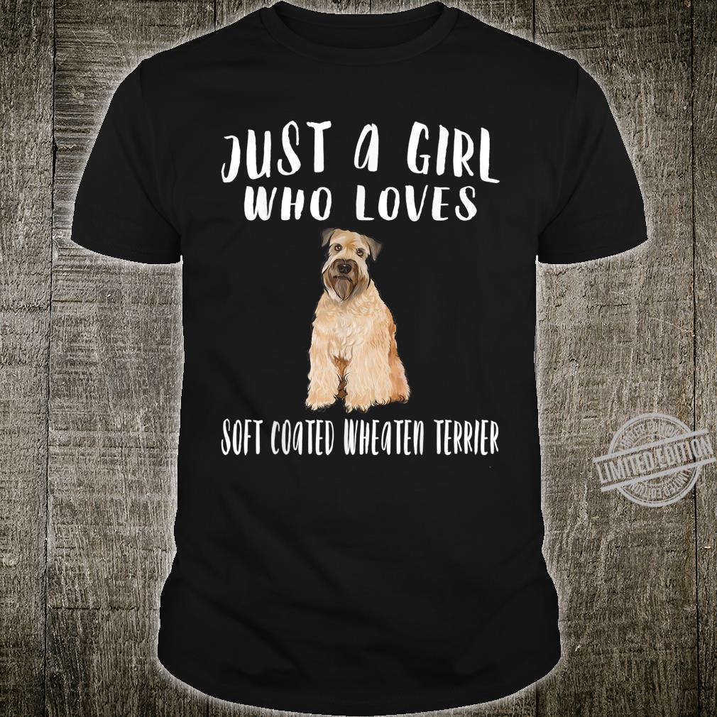 Just A Girl Irish Soft Coated Wheaten Terrier Shirt