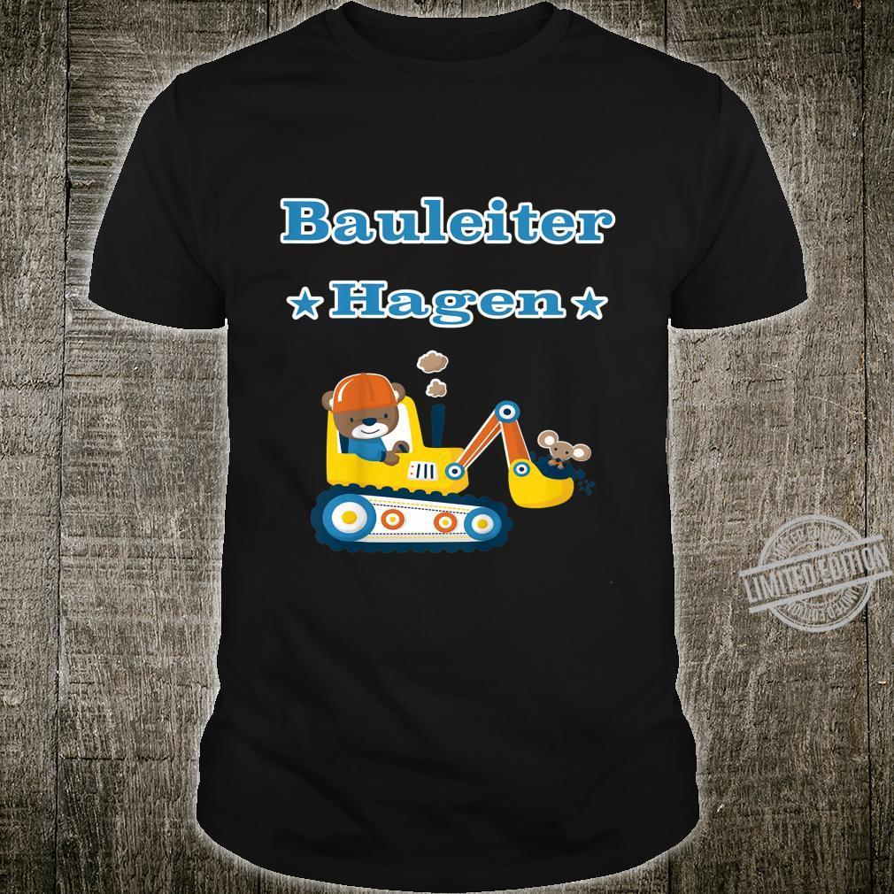 Kinder Bauleiter Hagen Shirt